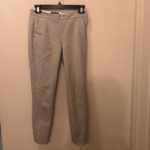 JCrew grey ankle skinny pant size 00